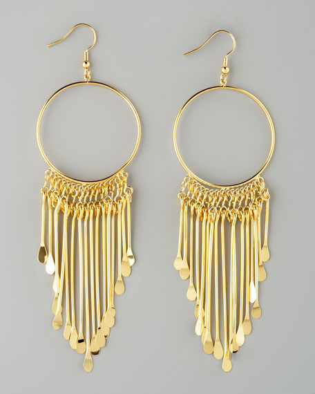 Viva Glam Fringe Earrings