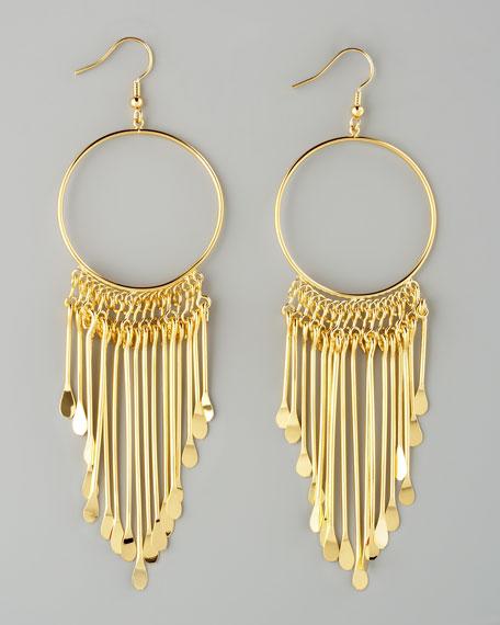 Viva Glam Fringe Earrings