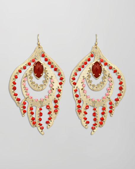 Paula Feather Earrings