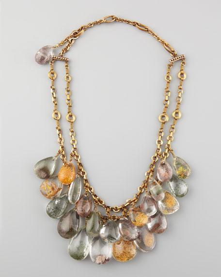 Phantom Quartz Necklace