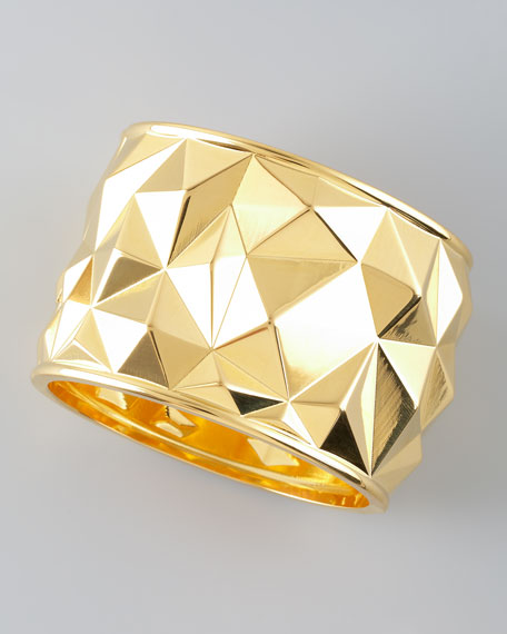 Faceted Hinge Bangle