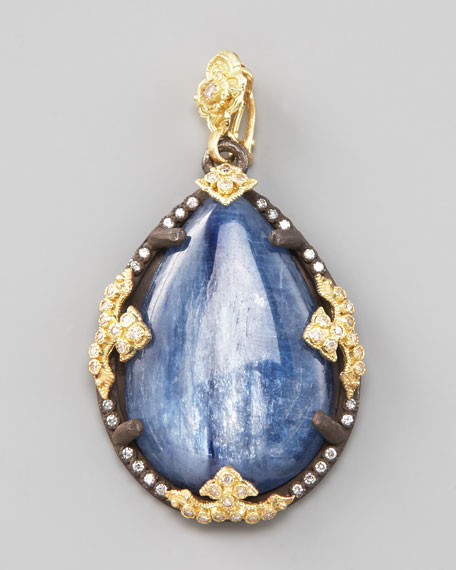Kyanite Teardrop Enhancer