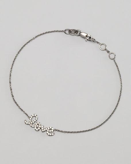 Black Diamond Love Bracelet