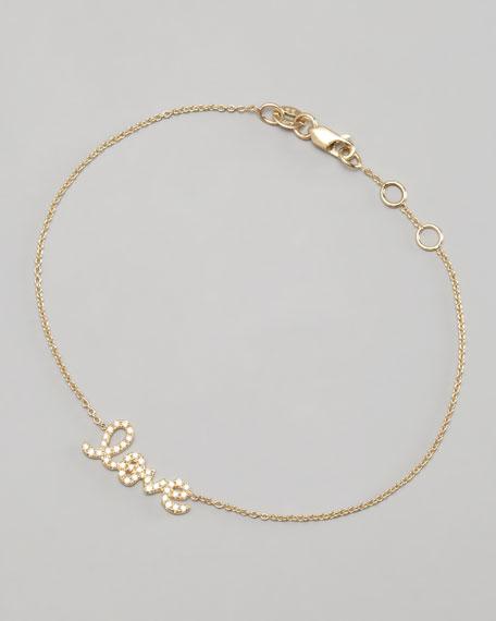 Yellow Gold Diamond Love Bracelet
