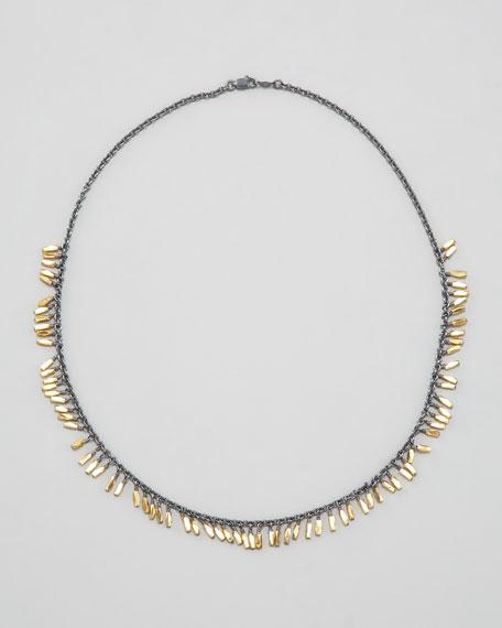 """Fringe Necklace, 17""""L"""