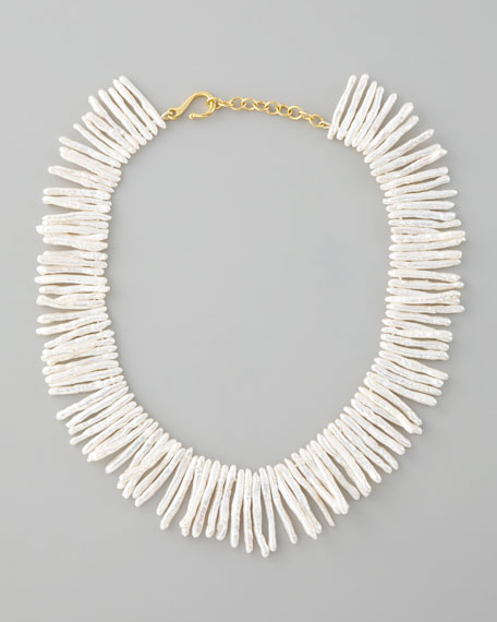 Pearl-Fringe Necklace