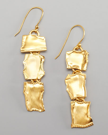 Dina Mackney Triple Drop Earrings