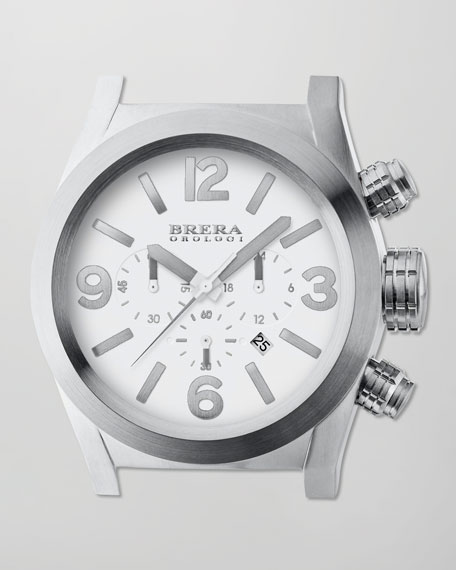 Stainless Steel Eterno Chronograph Head
