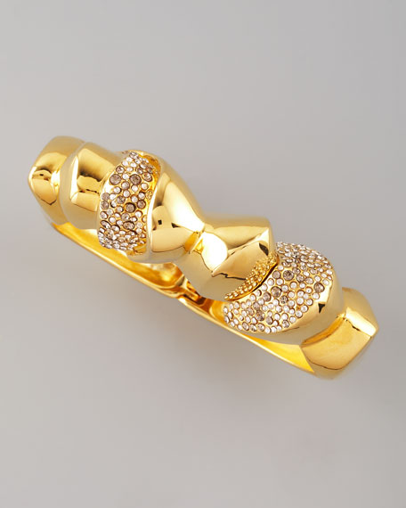 Bel Air Golden Sculptural Bracelet