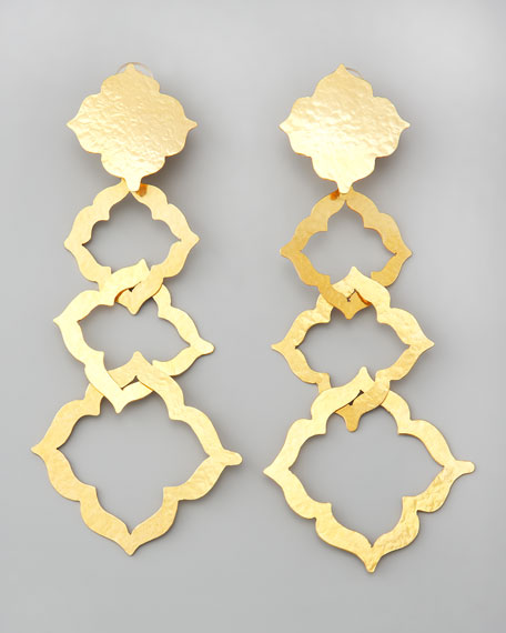 Alhambra Drop Clip Earrings