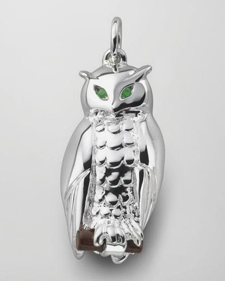 Wisdom Owl Charm