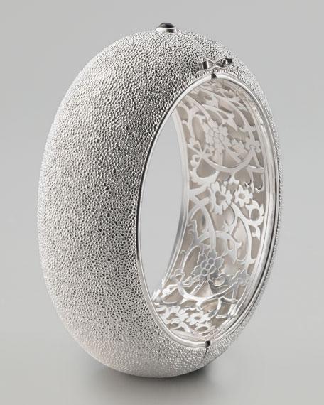 Sand-Patterned Cuff