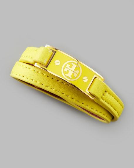 Logo Wrap Bracelet, Citrus