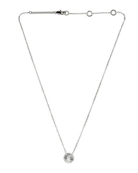 Pendant Necklace, Silver Color