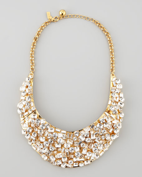 kaleidoball crystal-encrusted necklace