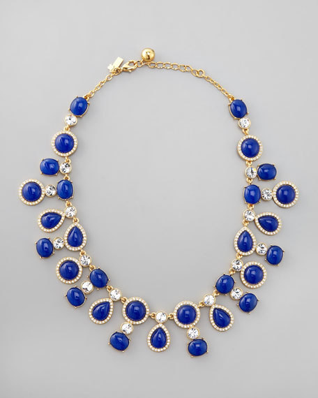 moonlit way collar necklace