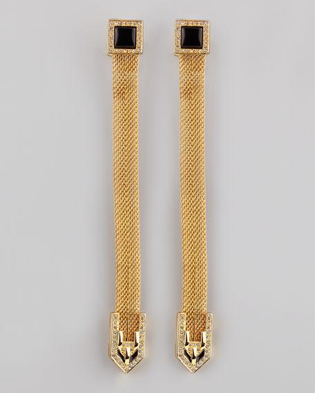 Snake Chain Drop Earrings