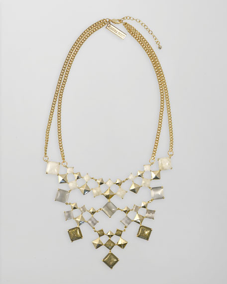 Allegra Bib Necklace
