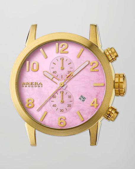 Isabella Tropics Chronograph Head, Pink