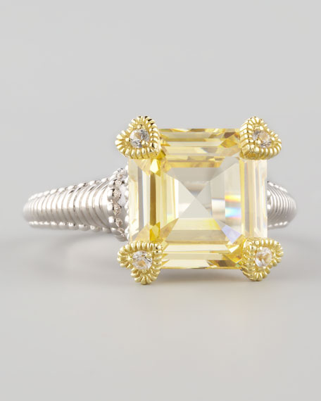 Small Candy Ring, Canary