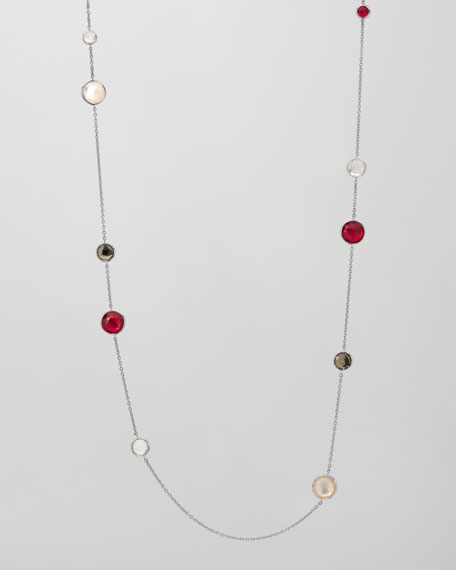 "Lollipop Station Necklace, 39""L"