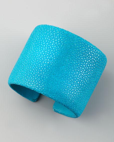Stingray Cuff, Turquoise