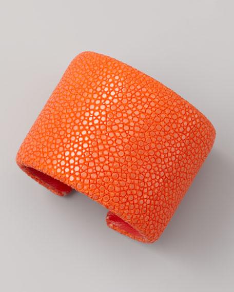 Stingray Cuff, Orange