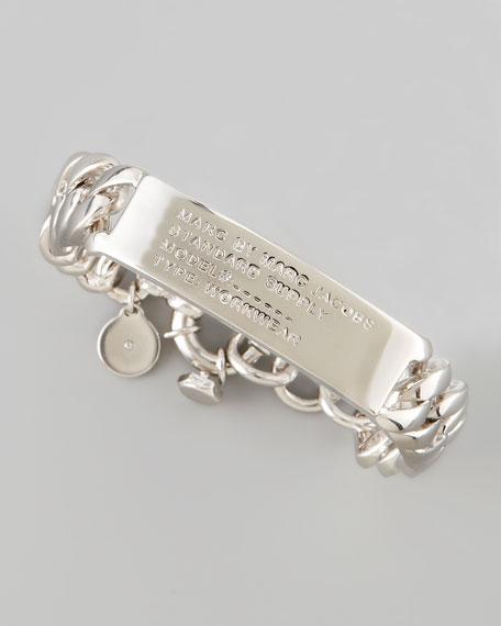 Standard Supply ID Chain Bracelet, Silvertone