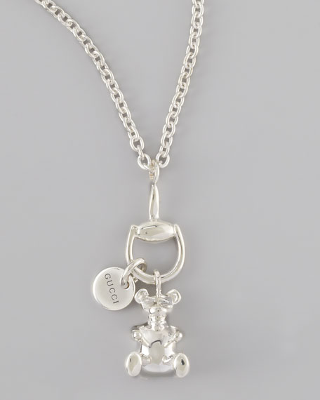 Bear Charm Necklace