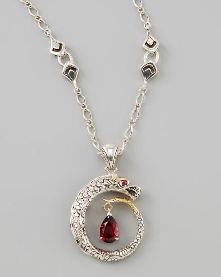 Naga Dragon Pendant Necklace