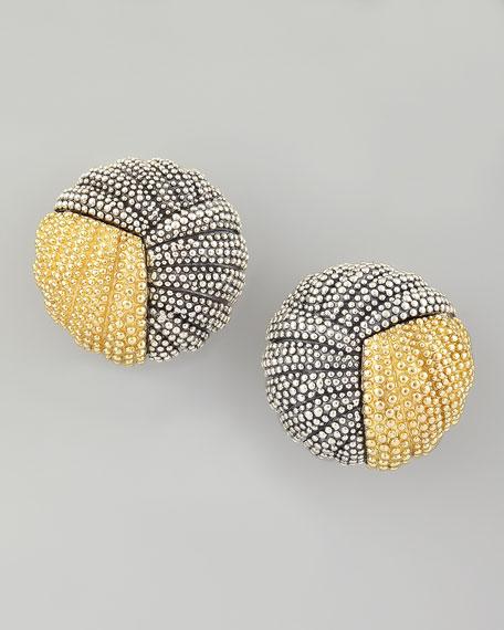 Soiree Button Earrings