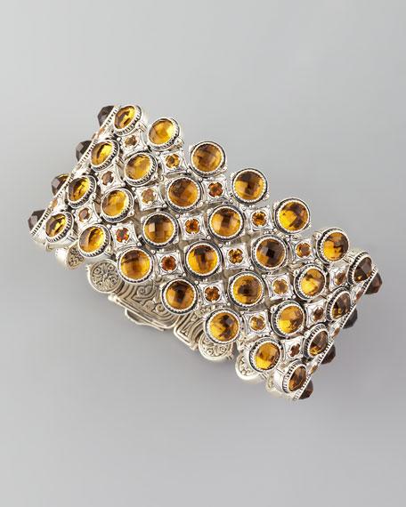 Ilios Quartz & Citrine Bracelet