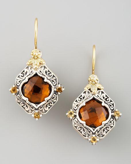 Ilios Diamond-Shaped Earrings
