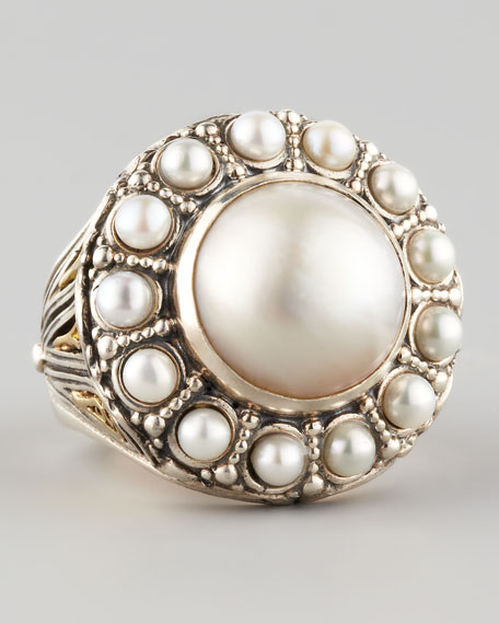 Kassandra Mabe Pearl Ring