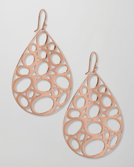 Rose Digital Lace Earrings