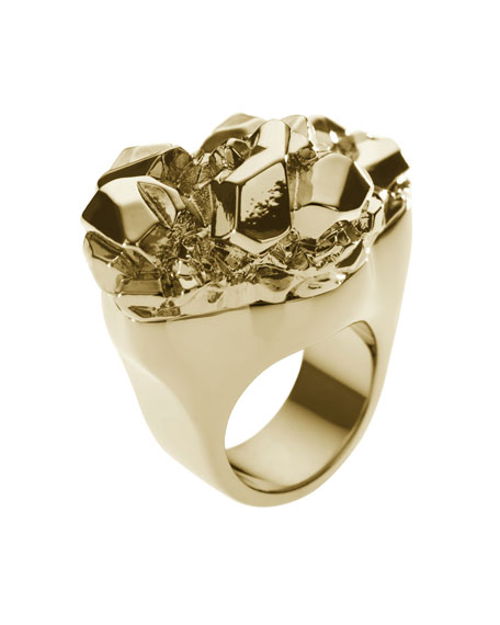 Nugget Ring, Golden