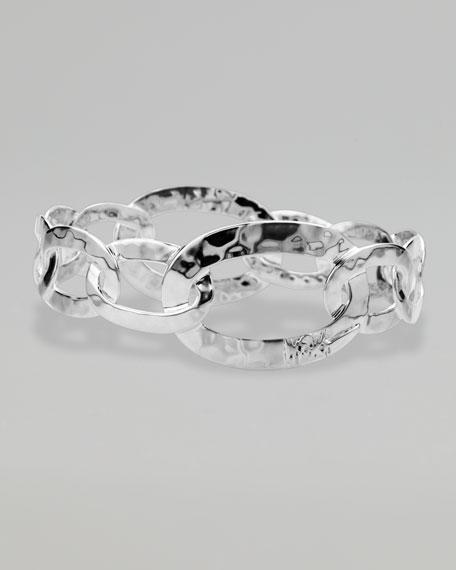 Roma Links Silver Bangle