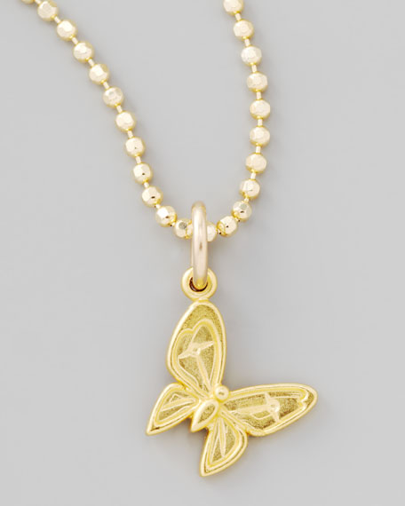 Gold Enchanted Butterfly Charm