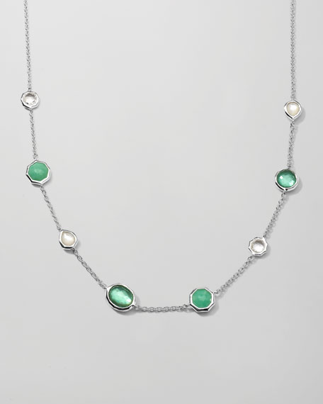 Wonderland Mini Gelato Necklace, Mint
