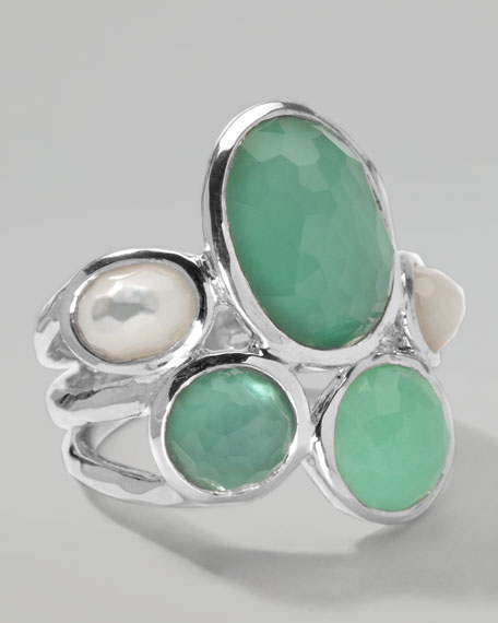 Wonderland 5-Stone Ring, Mint