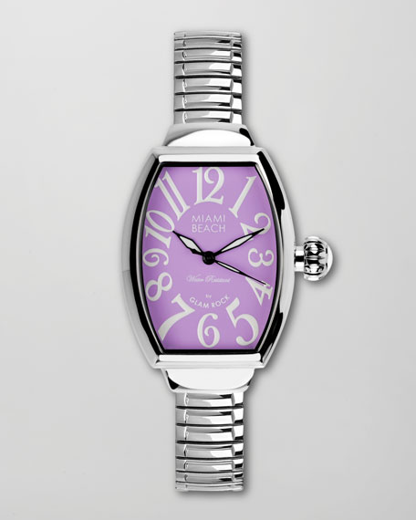 Large Curved Square Expand Watch