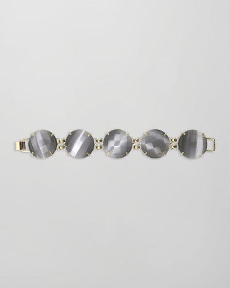 Cassie Five-Stone Bracelet, Slate