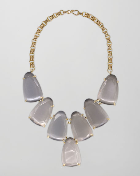 Harlow Necklace, Slate
