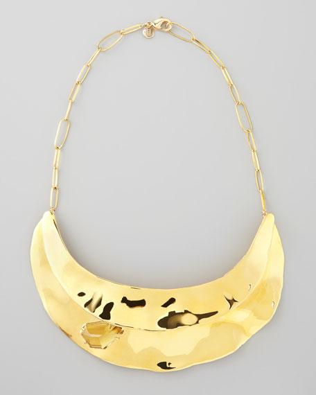 Bel Air Golden Bib Necklace