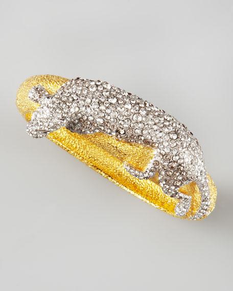 Siyabona Panther Bracelet, Golden