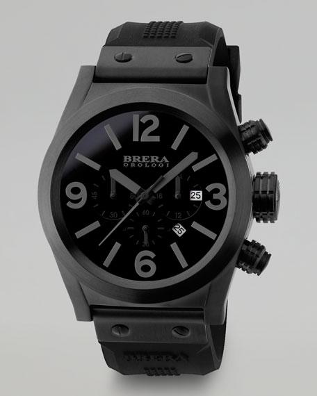Eterno Chronograph Watch, Black