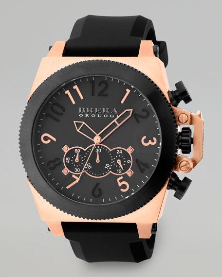 Militare Chronograph Watch, Black