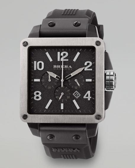 Quattro Chronograph Watch, Black