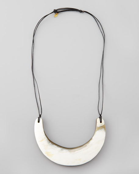 Horn-Bib Necklace (Stylist Pick!)