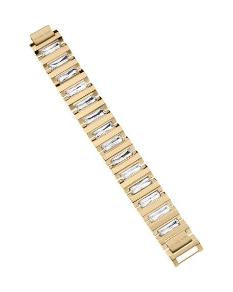 Golden Crystal Bracelet